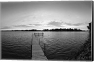 Pier in Lake Minnetonka, Minnesota Fine-Art Print