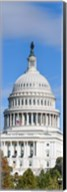 Low Angle View of Capitol Building, Washington DC Fine-Art Print