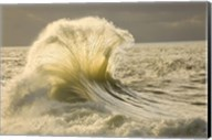 Waves in the Pacific Ocean, San Pedro, Los Angeles, California Fine-Art Print