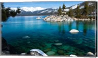 Rocks in Lake Tahoe, California Fine-Art Print