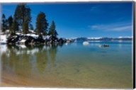 Scenic View of Lake Tahoe, California Fine-Art Print
