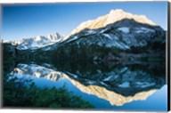 Reflections in a River in Eastern Sierra, California Fine-Art Print