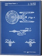 Blueprint Starship Enterprise Patent Fine-Art Print