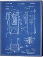 Blueprint Wall Phone Patent Fine-Art Print