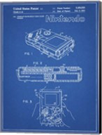 Blueprint Nintendo Game Boy Patent Fine-Art Print