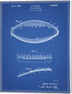 Blueprint Football Game Ball Patent Fine-Art Print