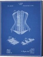 Blueprint Corset Patent Fine-Art Print