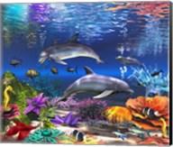 Beneath the Cerulean Sea Fine-Art Print