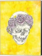 Skull with Rose Crown Fine-Art Print