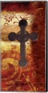 Cross On Red Fine-Art Print