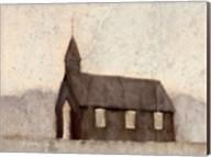 Mountain Church Fine-Art Print