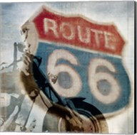 Route 66 Riding Fine-Art Print