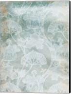 Rustic Teal Grey Vine Fine-Art Print