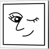 Winky Face Fine-Art Print