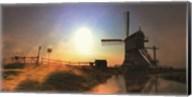 Windmill Dawn Fine-Art Print