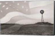 Patriotic Windmill Fine-Art Print