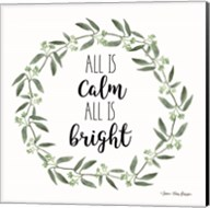 All is Calm Wreath Fine-Art Print