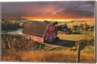 Storm Barn Fine-Art Print