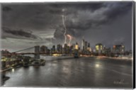 Manhattan Storm Fine-Art Print
