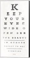 Eye Chart II Fine-Art Print