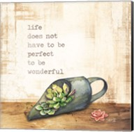 Life Does Not Have to be Perfect Fine-Art Print