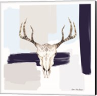 Colored Steer Head I Fine-Art Print