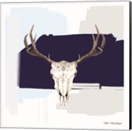 Colored Steer Head III Fine-Art Print