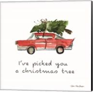 I've Picked You a Christmas Tree Fine-Art Print