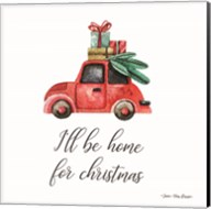 I'll be Home for Christmas Fine-Art Print