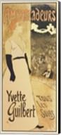 Ambassadeurs - Yvette Guilbert Tous les Soirs Fine-Art Print