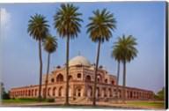 Exterior view of Humayun's Tomb in New Delhi, India Fine-Art Print