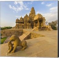 Hindu Temples at Khajuraho, India Fine-Art Print