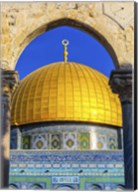 Dome of the Rock Arch, Temple Mount, Jerusalem, Israel Fine-Art Print