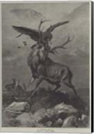 A Royal Duel Fine-Art Print