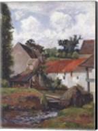 Farm at Osny Fine-Art Print
