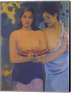 Two Women from Tahiti Fine-Art Print