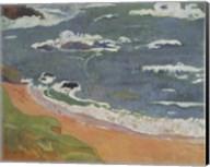 Beach at Le Pouldu Fine-Art Print