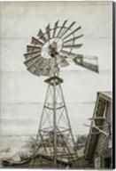 Windmill Waterpump Fine-Art Print