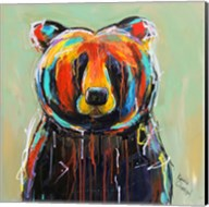 Painted Black Bear Fine-Art Print