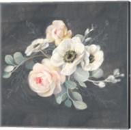 Roses and Anemones Square Fine-Art Print