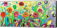 Flower Garden Jazz Fine-Art Print