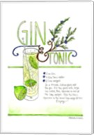 Gin & Tonic Fine-Art Print