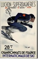 French Ski Competition 1939 Fine-Art Print
