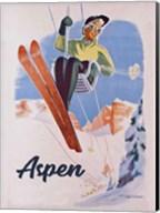 Vintage Aspen Ski Lift Fine-Art Print