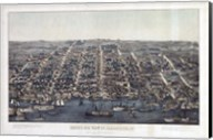 Alexandria Va Forts Built To Defend Washington - Civil War 1863 Fine-Art Print
