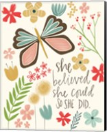 Believed She Could Fine-Art Print
