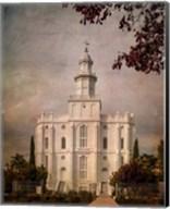 LDS St. George Temple Fine-Art Print