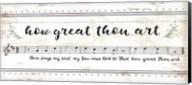 How Great Thou Art Fine-Art Print