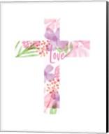 Love Cross Fine-Art Print