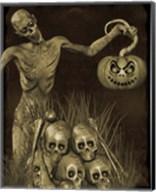 Halloween Graveyard - B Fine-Art Print